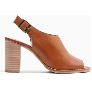 Madewell | NEW In Box The Cary Sandal Amber Brown
